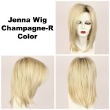 Champagne-R / Jenna w/ Roots / Long Wig