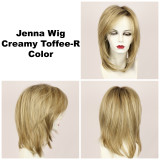 Creamy Toffee-R / Jenna w/ Roots / Long Wig