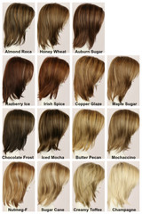 Color Chart / Jenna w/ Roots / Long Wig