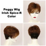 Irish Spice-R / Peggy w/ Roots / Short Wig