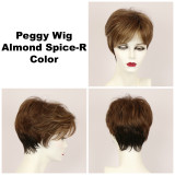 Almond Spice-R / Peggy w/ Roots / Short Wig