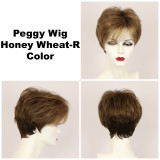 Honey Wheat-R / Peggy w/ Roots / Short Wig