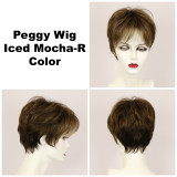 Iced Mocha-R / Peggy w/ Roots / Short Wig
