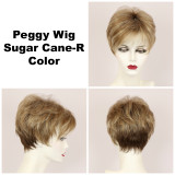 Sugar Cane-R / Peggy w/ Roots / Short Wig