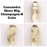 Champagne-R / Cassandra Monofilament w/ Roots / Long Wig