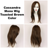 Toasted Brown / Cassandra Monofilament / Long Wig