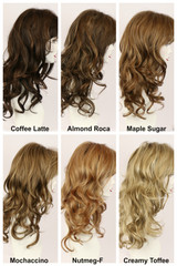 Color Chart / Brooke w/ Roots / Long Wig