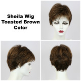Toasted Brown / Sheila / Short Wig