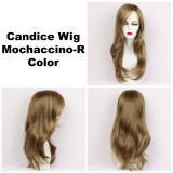 Mochaccino-R / Candice w/ Roots / Long Wig