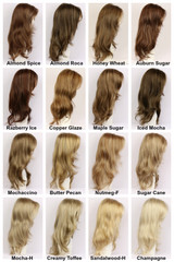 Color Chart / Candice w/ Roots / Long Wig