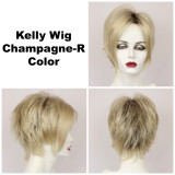 Champagne-R / Kelly w/ Roots / Short Wig