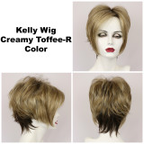 Creamy Toffee-R / Kelly w/ Roots / Short Wig
