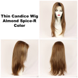 Almond Spice-R / Thin Candice w/ Roots / Long Wig