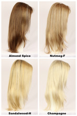 Color Chart / Thin Candice w/ Roots / Long Wig
