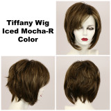 Iced Mocha-R / Tiffany w/ Roots / Medium Wig