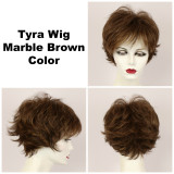 Marble Brown / Tyra / Short Wig