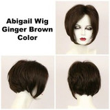 Ginger Brown / Abigail Lace Front / Medium Wig