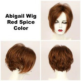 Red Spice / Abigail Lace Front / Medium Wig