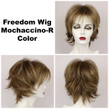 Mochaccino-R / Large Freedom w/ Roots / Medium Wig