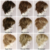 Color Chart / Large Freedom w/ Roots / Medium Wig