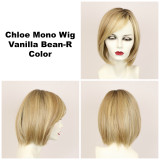 Vanilla Bean-R / Chloe Monofilament w/ Roots / Medium Wig