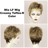 Creamy Toffee-R / Mia Lace Front w/ Roots / Short Wig