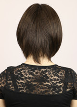 Dark Chocolate / Chloe Monofilament / Medium Wig
