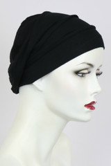 Black / Bamboo Turban