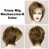 Mochaccino-R / Large Trixie w/ Roots / Medium Wig