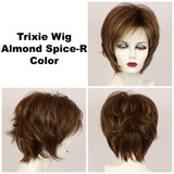 Almond Spice-R / Large Trixie w/ Roots / Medium Wig