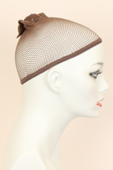 Brown / Mesh / Wig Cap