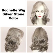 Silver Stone / Large Rochelle / Long Wig