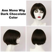 Dark Chocolate / Ann Mono / Short Wig