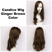 Ginger Brown / Candice / Long Wig