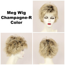 Champagne-R / Meg w/ Roots / Short Wig