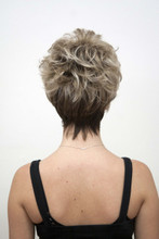 Darma Wig with Roots in Creamy Toffee-R (back)