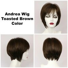 Toasted Brown / Andrea / Medium Wig
