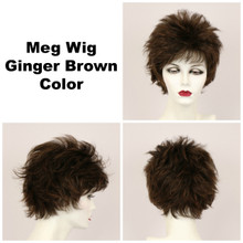 Ginger Brown / Meg / Short Wig