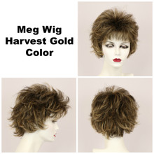 Harvest Gold / Meg / Short Wig