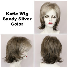 Sandy Silver / Katie / Medium Wig