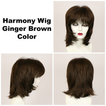 Ginger Brown / Harmony / Medium Wig