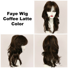 Coffee Latte / Faye / Long Wig