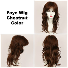 Chestnut / Faye / Long Wig
