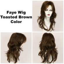 Toasted Brown / Faye / Long Wig