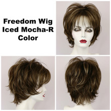 Iced Mocha-R / Freedom w/ Roots / Medium Wig