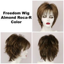 Almond Roca-R / Freedom w/ Roots / Medium Wig