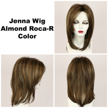 Almond Roca-R / Jenna w/ Roots / Long Wig