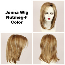 Nutmeg-F / Jenna w/ Roots / Long Wig