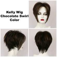 Chocolate Swirl / Kelly / Short Wig