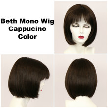 Cappucino / Beth Monofilament / Medium Wig